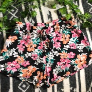 Justice floral Shorts